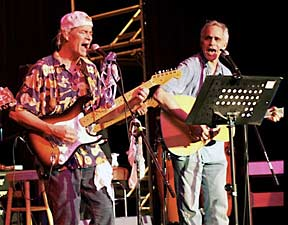 Bill Hall and David Lindy performing at Rugapalooza 2009