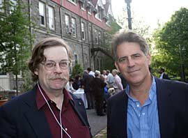 Jeff Moak and Andy Simon at 2010 reunion.