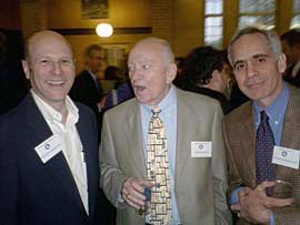 Henry Shreibman, Owen Boyer (faculty), and David Lindy.