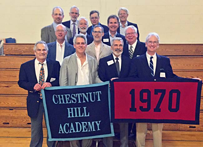 CHA Class of 1970 at 2015 reunion.