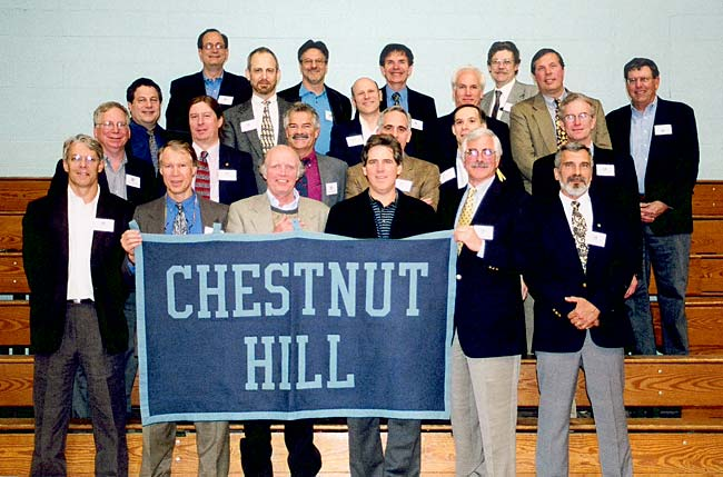 CHA Class of 1970 at 2005 reunion.