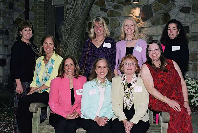 Springside Class of 1970 reunion in 2005.